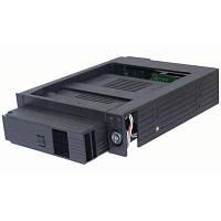 """Карман внутренний для HDD 3,5"""" SATA для 5.25"""" Agestar (SMRP) Black, пластик"""