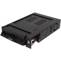 """Карман внутренний для HDD 3,5"""" SATA для 5.25"""" Agestar (SR3P(K)-1F-BK) Black, пластик"""