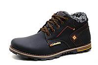 Ботинки Columbia на меху, зимние, мужские, натуральная кожа, черные, р. 40 44, фото 1
