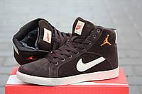 Зимние кроссовки Nike Air Jordan