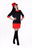Платье -туника женское со вставками
