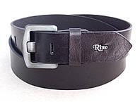 Ремень кожаный Rino джинсовый