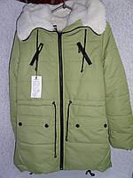 Теплая куртка на девочку 158