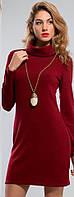 Платье женское  ангора с горлом