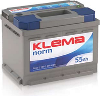 Аккумулятор Klema Веста 60а/ч 540 пусковой