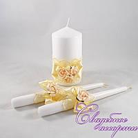 Набор свадебных свечей №36