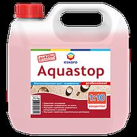 Грунтовка- концентрат 1:10  ESKARO AQUASTOP PROFESSIONAL влагоизоляционная 3л