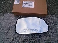 Стекло правого зеркала с изломом для Chevrolet Lacetti