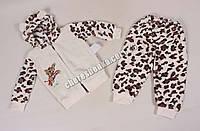 Комплект флисовый для новорожденных 1410-K-1