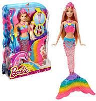 Кукла Барби Русалка для купания, хвост светится