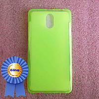 Чехол Lenovo Vibe P1m - green (Cиликон) #22