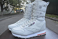 Кроссовки высокие (ботинки) «Reebok» зимние