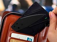 CardSharp - нож размером с кредитку для бумажника