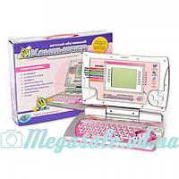 Детский обучающий ноутбук (детский компьютер мультибук): 16 заданий, 8 игр, русский язык