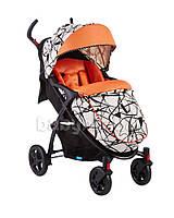 Детская прогулочная коляска Geoby C409M-W4FU(G)