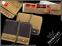Мужской кошелек с цепью бренд Always Wild