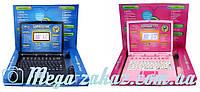 Детский обучающий компьютер с цветным экраном и мышкой: 2 языка, 24 урока + 11 игр