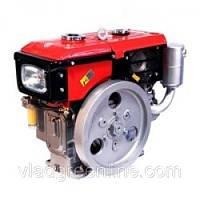 Двигатель Булат R190NЕ (дизель, 10,5 л.с., водяное охл., электростартер)