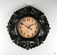 Интересные настенные часы (41см) цвет чёрный