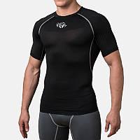 Компрессионная футболка Peresvit Air Motion Compression Short Sleeve T-Shirt Black Grey