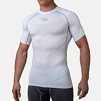 Компрессионная футболка Peresvit Air Motion Compression Short Sleeve T-Shirt Snow Grey