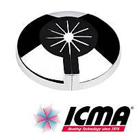 Розетка декоративная хромированная для двухтрубного радиаторного вентиля Icma 108