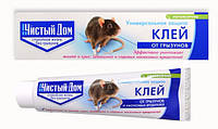 Чистый дом клей от крыс мышей грызунов и насекомых 135 гр. Россия