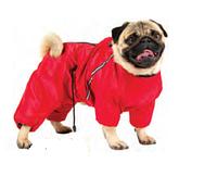 Утепленный комбинезон КБУ-5 для собак 30/65см (мопс), болонья, флис