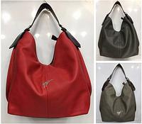 Женская сумка 50500 классическая форма мешочек цвета красный, черный, серый