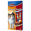 Trixie TX-42719 Creamy Snacks 6шт - жидкое лакомство двух вкусов для кошек