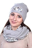 Комплект трикотажный серый