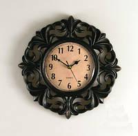 Необычные часы на стену 26х4 см