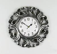 Стильные настенные часы 26х4 см из пластика