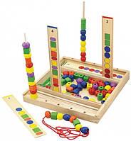 Детский набор для обучения Viga Toys Логика 56182