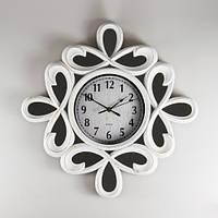 Интерьерные часы с зеркальными вставками 51х5 см