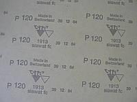 Бумага P 120 SIA водостойкая абразивная наждачная красная лист 230х280мм сиа р120