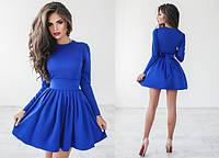 Платье с пышной юбкой в расцветках 553 (1039/1