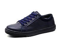 Кроссовки зимние Clarks Multi Shoes, мужские, на меху, натуральная кожа, синие, р. 40 41 42 43 44 45, фото 1