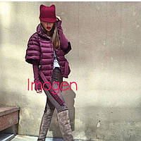 Женская куртка со съемными рукавами