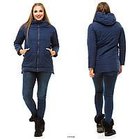 Куртка женская весенняя большие размеры М 16-33 Жан