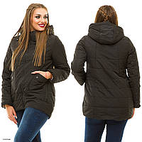 Куртка женская осенняя большие размеры М 16-43 Жан