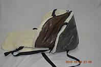 Меховой матрасик на санки