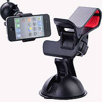 Автомобильный держатель прищепка HOLDER 1017, универсальное крепление в авто для телефонов/GPS навигаторов