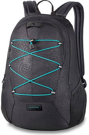 Красивый женский городской рюкзак Dakine WOMEN'S TRANSIT 18L ellieii 610934030686 черный
