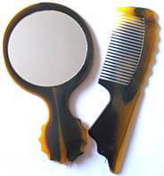 Набор расческа + зеркало