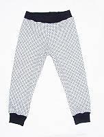 Детские теплые брюки для девочки Горошинки на меху