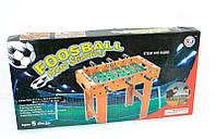 Футбол 628 В (6) деревянный, на штангах, в кор-ке