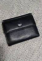 Женский кошелек компактный черный фирмы Desisan(Турция)