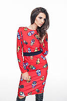 Платье женское Матрешка трикотаж, фото 1