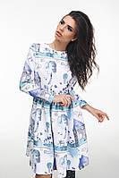 Платье женское юбка-клеш, фото 1